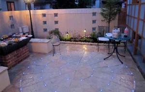 как сделать красивое освещение на даче