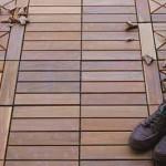 садовые дорожки из деревянного декинга