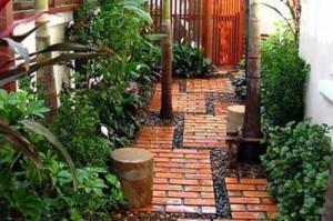 садовая дорожка как элемент ландшафтного дизайна
