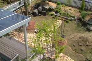 садовая дорожка от крыльца