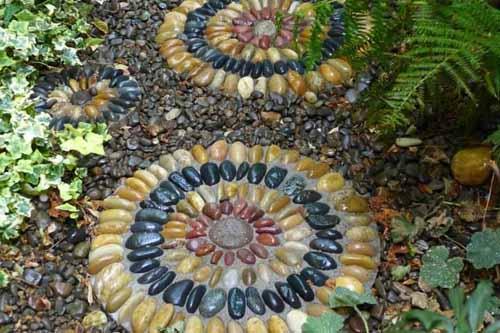 садовые дорожки с мозаикой
