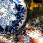 мозаичная тротуарная плитка для садовых дорожек своими руками