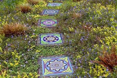 Плитка с мозаикой своими руками