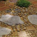 примеры дорожек с мозаикой в саду