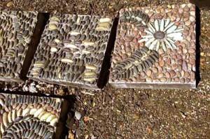 тротуарная плитка с мозаикой своими руками