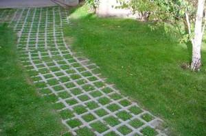 необычная тротуарная плитка для дачи