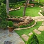 садовые дорожки из тротуарной плитки в ландшафтном дизайне