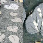 плитки для садовой дорожки своими руками
