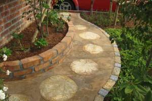 красивые садовые дорожки из тротуарной плитки своими руками