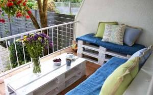 красивый недорогой дизайн балкона