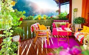 секреты дизайна красивого балкона