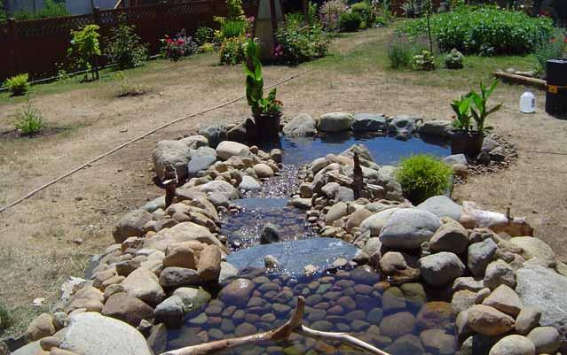 Как сделать фонтан для водоема своими руками