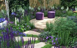 ландшафтный дизайн место отдыха в саду