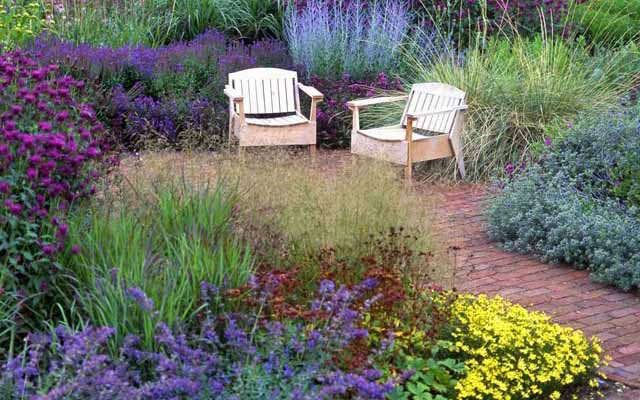 садовые дорожки как элемент ландшафта