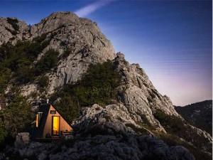необычные дома в горах