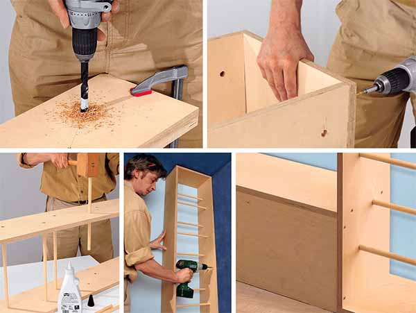 как самому сделать шкаф-трансформер
