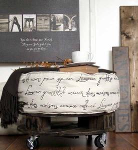 мебель своими руками для сада