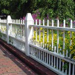 дачный забор штакетник