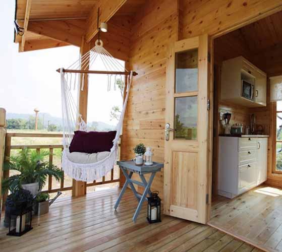 каркасный дачный домик проект