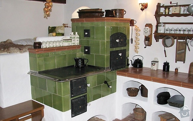 печка в доме