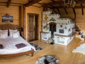 русская печка в интерьере дома