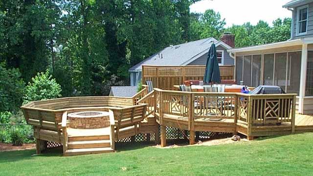 проект деревянной террасы
