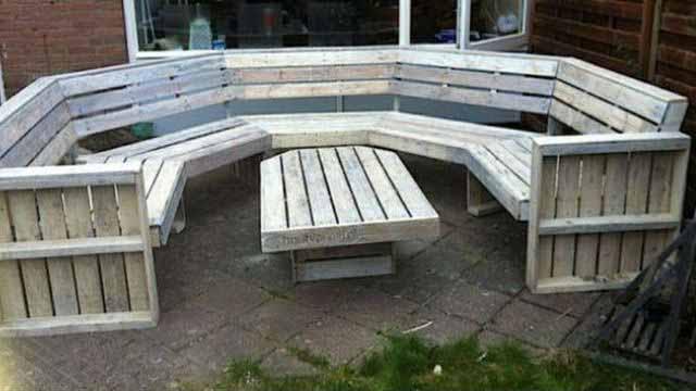 садовая мебель своими руками инструкция