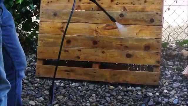 как самому сделать садовую мебель из старых поддонов