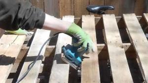 как делать мебель из поддонов
