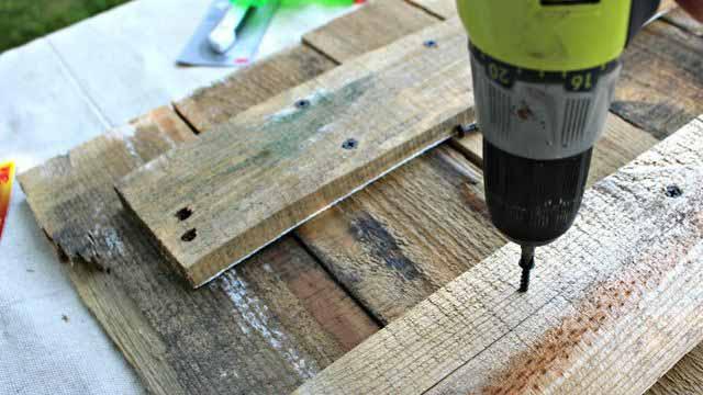как самому сделать мебель из поддонов