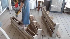 как изготовить мебель из поддонов