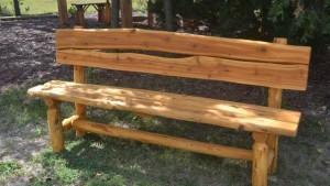 как сделать скамейку со спинкой