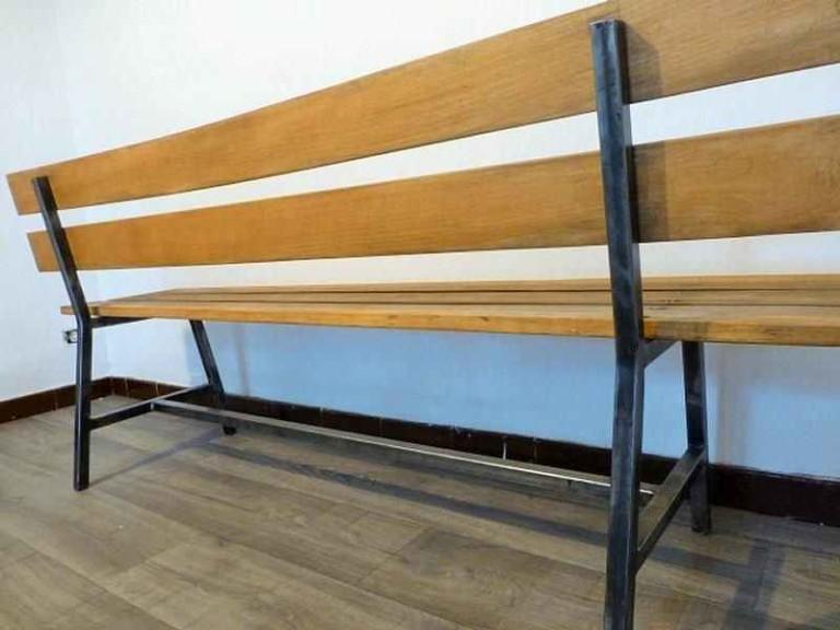 Как сделать скамейку из профиля своими руками