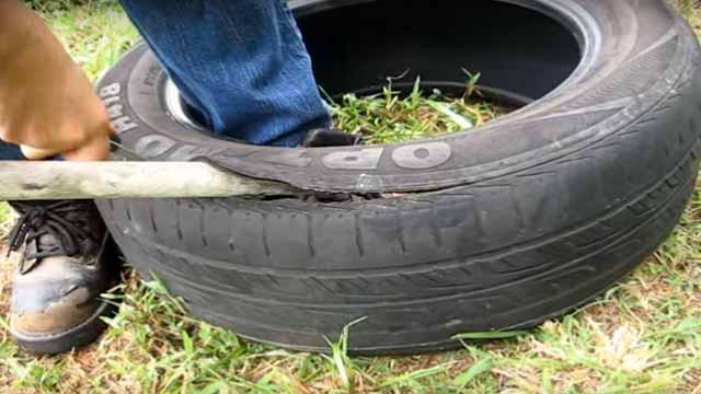 как сделать поделки из шины