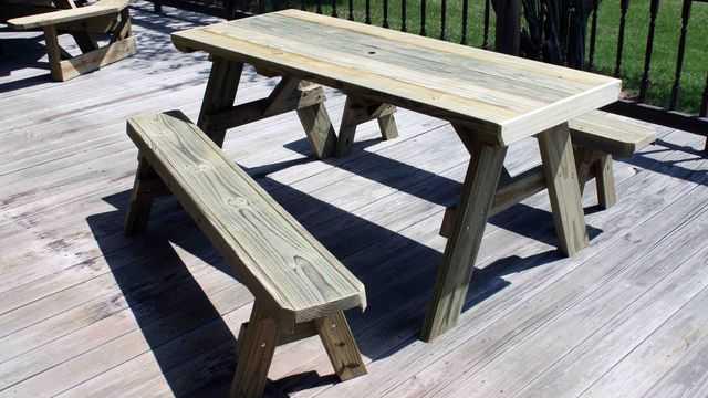скамейка со столом своими руками