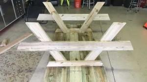 стол с лавочками своими руками