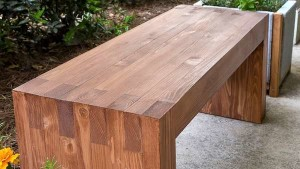 деревянная скамейка фото инструкция