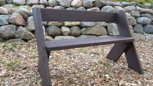 скамейка для дачи инструкция