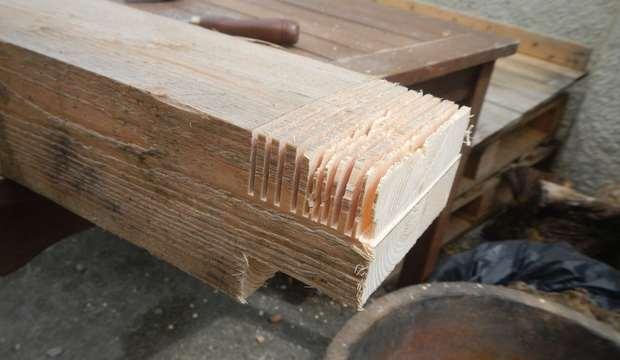как сделать деревянные ворота своими руками