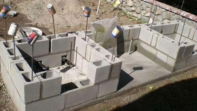 постройка летней кухни