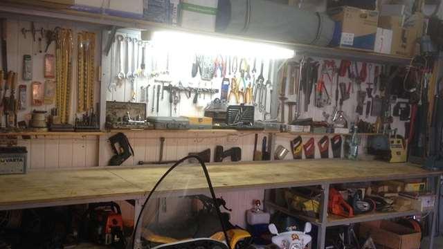 Свет в гараж своими руками 71