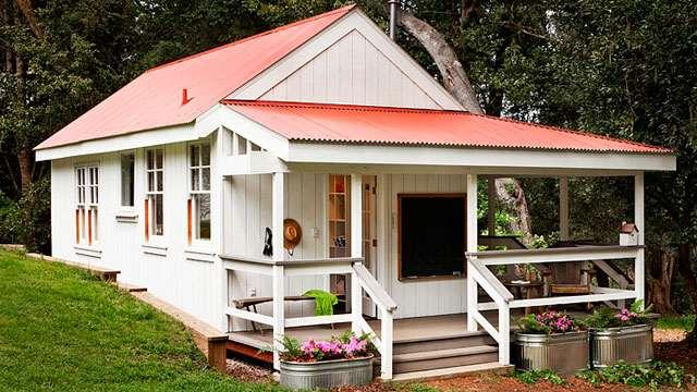 дачный домик дизайн