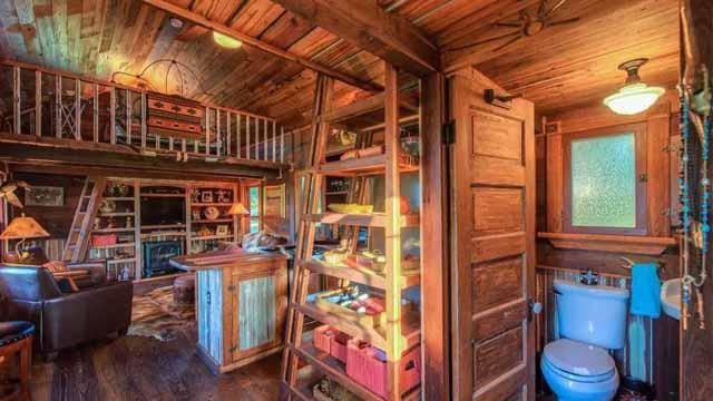 маленький дачный домик фото