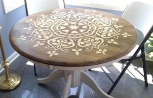 как обновить старый стол