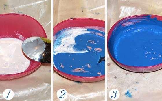 как приготовить краску для мебели
