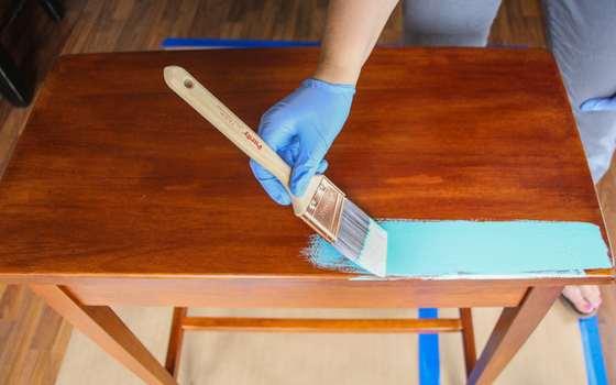 как перекрасить мебель