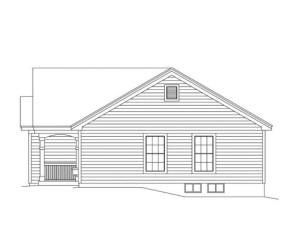 чертеж дачного домика