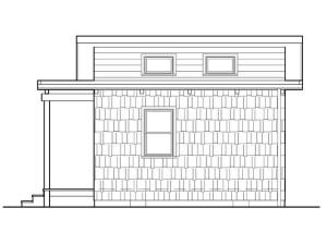 дачный домик чертеж