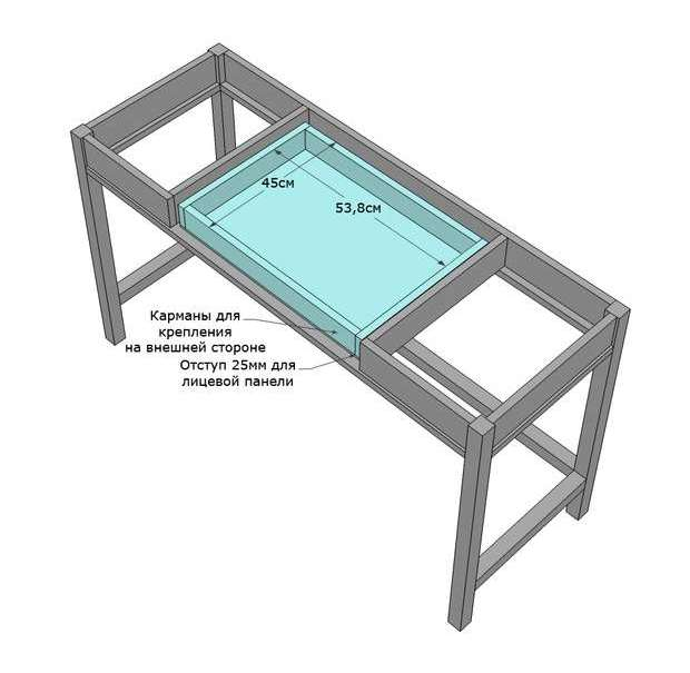 складной стол своими руками инструкция