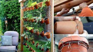 как сделать вертикальное озеленение